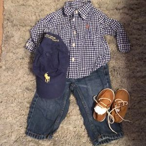 Whole polo outfit!